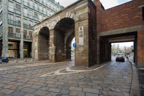 Porta Nuova, Milan, Italy, January 2011