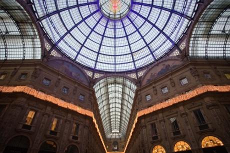 Galleria Vittorio Emanuele II, Milan, Italy, December 2010