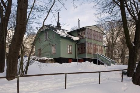 Strandvagen, Stockholm, Sweden, February 2011