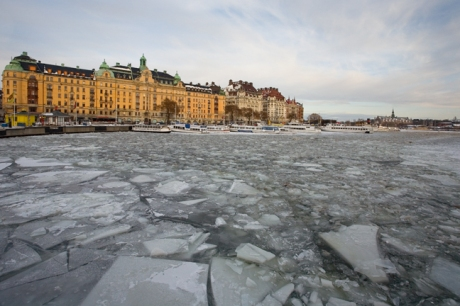 Nybrokajen, Stockholm, Sweden, February 2011