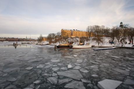 Slupskjulsvägen, Stockholm, Sweden, February 2011