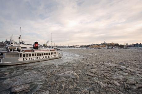 Strandvägen, Stockholm, Sweden, February 2011