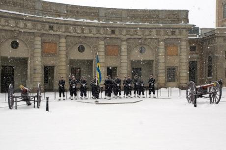 Kungliga Slottet, Stockholm, Sweden, February 2011