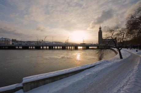 Tegelbacken, Stockholm, Sweden, February 2011