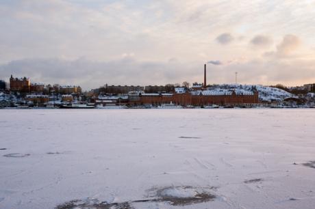 Soder Malarstrand, Stockholm, Sweden, February 2011