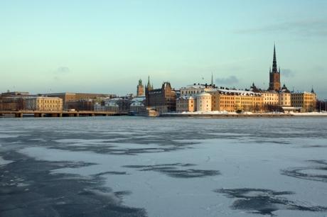 Norra Riddarholmshamnen, Stockholm, Sweden, February 2011