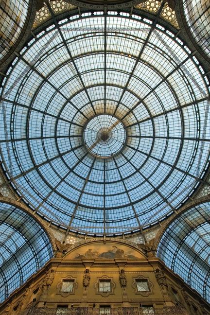 Galleria Vittorio Emanuele II, Milan, Italy, January 2011