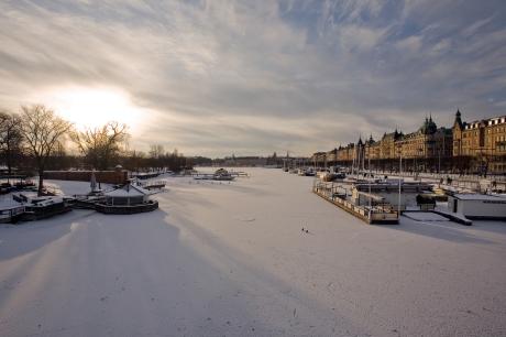 Djurgarden, Stockholm, Sweden, February 2011