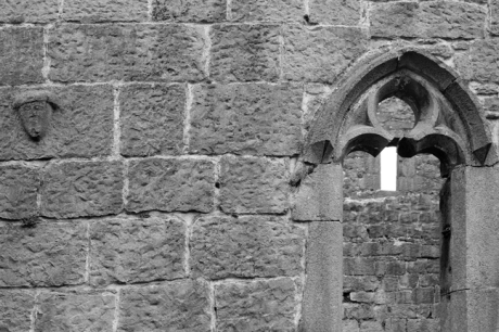 Murrisk Abbey, Co. Mayo, Ireland, March 2009