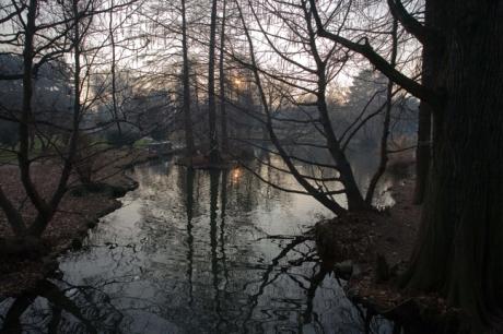 Parco Sempione, Milan, Italy, January 2011