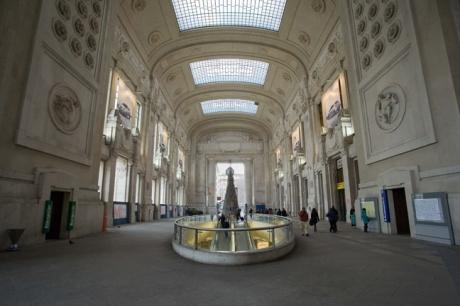 Milano Centrale, Piazza Duca d'Aosta, Milan, Italy, January 2011