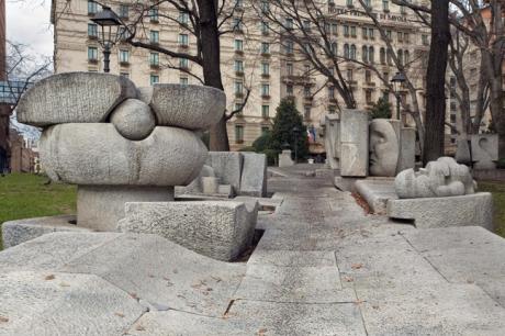 Piazza della Repubblica, Milan, Italy, January 2011