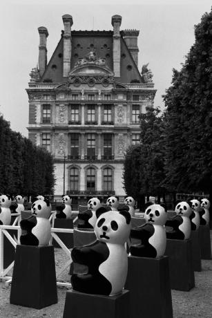 The Louvre, Paris, France, August 2004