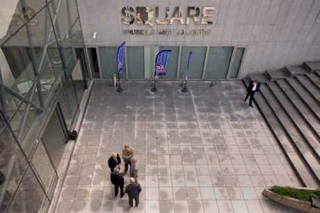 Square, Mont des Arts, Brussels, Belgium, April 2011