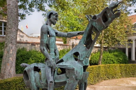Ruiters van de Apocalyps, Bruges, Belgium, April 2011, Bruges, Belgium, April 2011