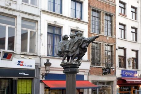 Rue au Beurre, Brussels, Belgium, April 2011