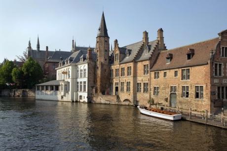 Rozenhoedkaai, Bruges, Belgium, April 2011