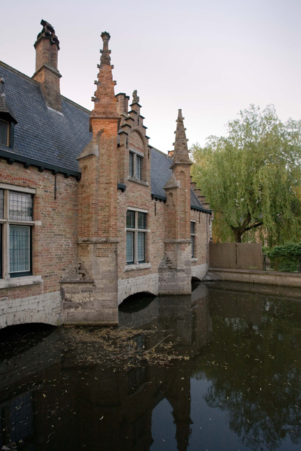 Southern Bridge, Minnewater, Bruges, Belgium, April 2011