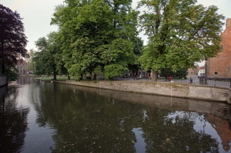 Minnewater, Bruges, Belgium, April 2011