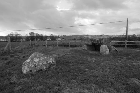 Dolmen of the Four Maols, Ballina, Mayo, Ireland, 2011