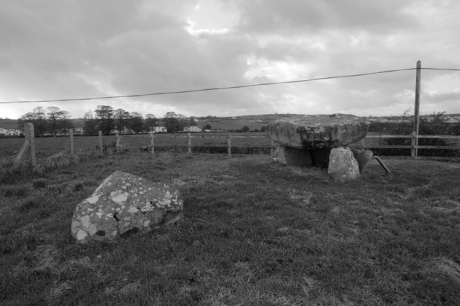 Dolmen of the Four Maols, Ballina, Mayo, Ireland, 2011