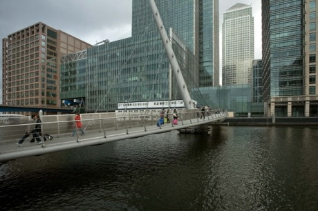 South Quay, Canary Wharf, London, England, October 2011