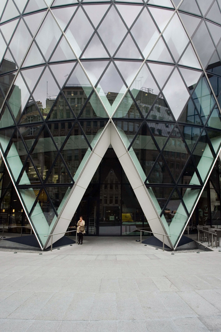 Gherkin, St Mary Axe, London, England, October 2011