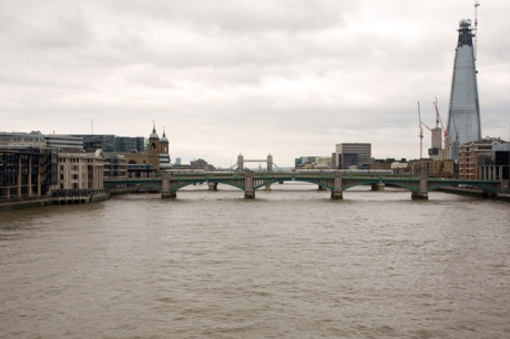 From Millennium Footbridge, London, England, October 2011