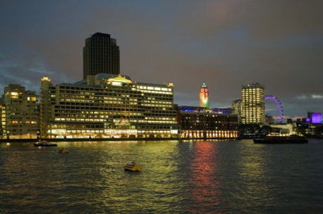 From Victoria Embankment, London, England, October 2011