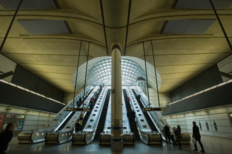 Canary Wharf Tube Station, London, England, November 2011