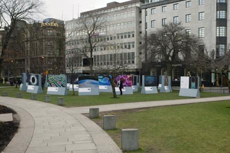 St Andrew Square, Edinburgh, Scotland, February 2012