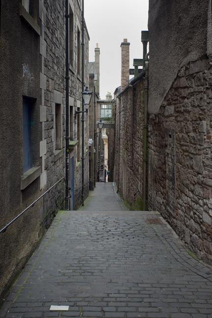 Old Town, Edinburgh, Scotland, February 2012