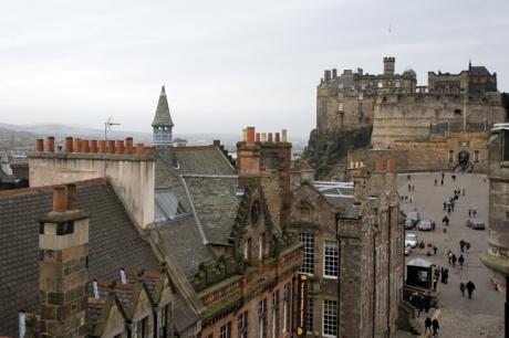 Castle Hill, Edinburgh, Scotland, February 2012