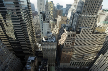 From Liberty Plaza, Liberty St., Manhattan, New York, America, January 2012