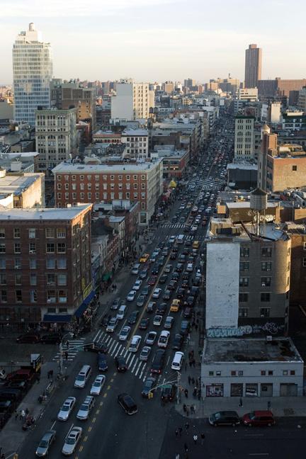 Canal Street, Manhattan, New York, America, January 2012