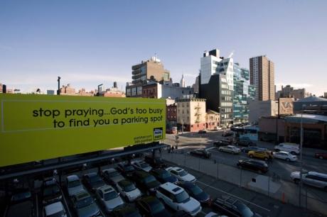 10th Avenue, Manhattan, New York, America, January 2012