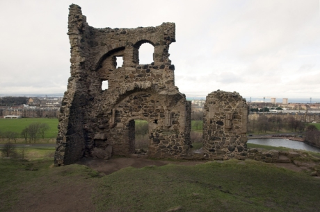 St Anthony's Chapel, Holyrood, Edinburgh, Scotland, February 2012