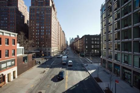 West 23rd Street, Manhattan, New York, America, January 2012
