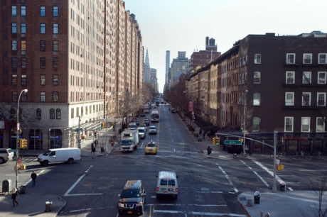 West 23rd Street, Manhattan, New York, America, January 2012
