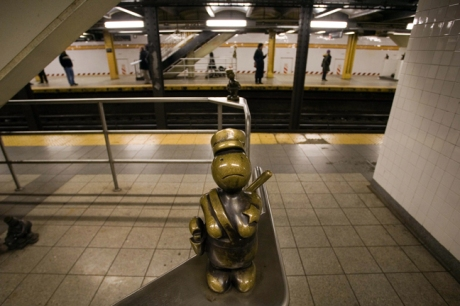 14th Street & 8th Avenue, Manhattan, New York, America, January 2012