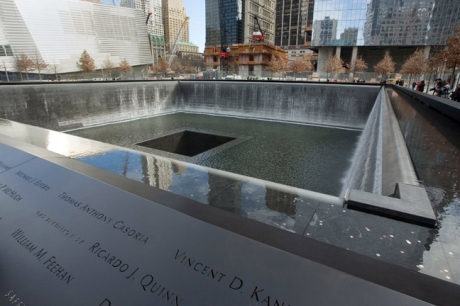 9/11 Memorial, Manhattan, New York, America, January 2012