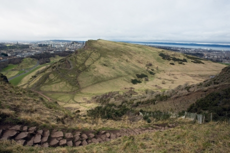 Gutted Haddie, Salisbury Crags, Edinburgh, Scotland, February 2012