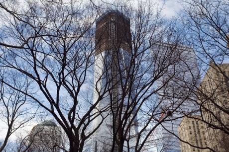1 WTC, Manhattan, New York, America, January 2012