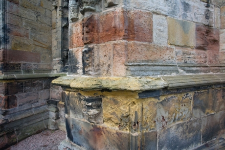 Rosslyn Chapel, Roslin, Midlothian, Scotland, February 2012