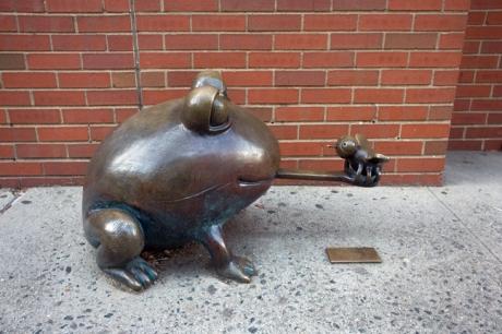 Greenwich Street, Manhattan, New York, America, January 2012