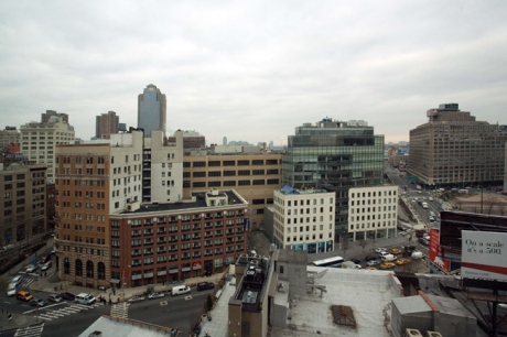 From Canal Street, Tribeca, Manhattan, New York, America, January 2012
