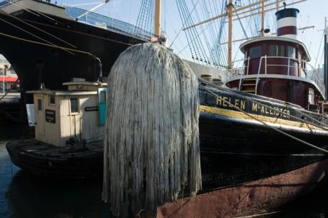 Helen McAllister, So. St. Seaport, Manhattan, New York, America, January 2012