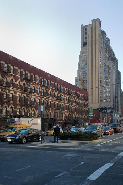 8th Avenue, Manhattan, New York, America, January 2012