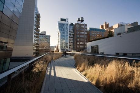 The High Line, Manhattan New York, America, January 2012