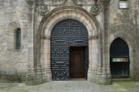 Igreja de Santa Clara, Porto, Portugal, April 2012